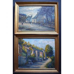 Gaston Astier During French School Landscapes XXth Rt400