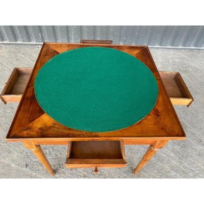 Petite Table à Jeux Louis XVI - 18 Ième