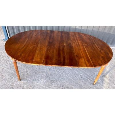 Large Extendable 19th Walnut Table