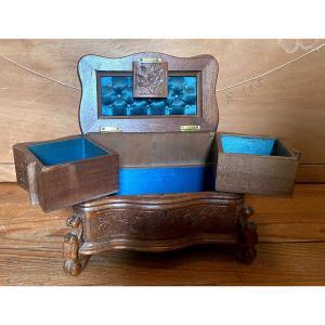Boxwood Jewelry Box 1900