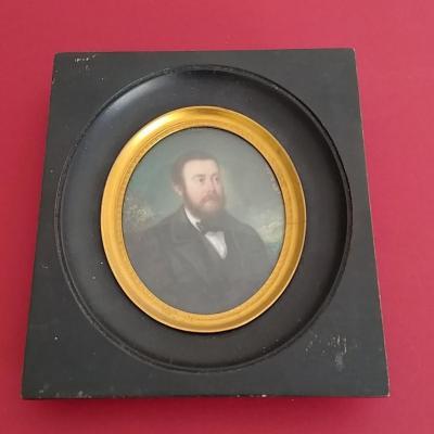 Jeanne Mathilde Herbelin (1820-1904) Miniature