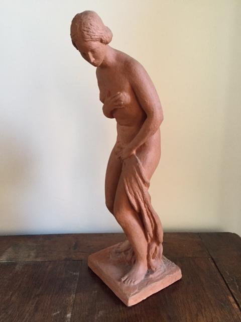 Bather Terracotta Antoine Vriens (1902-1987)