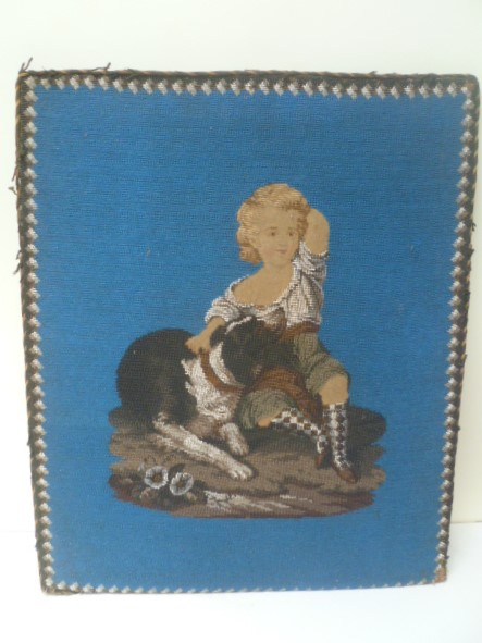 Table Of Pearls The Child With The Dog