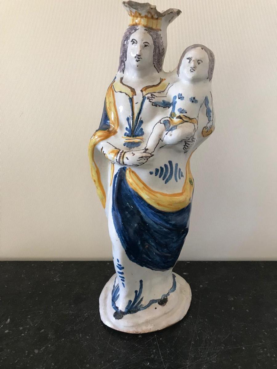 Quimper Virgin Of Accouchée