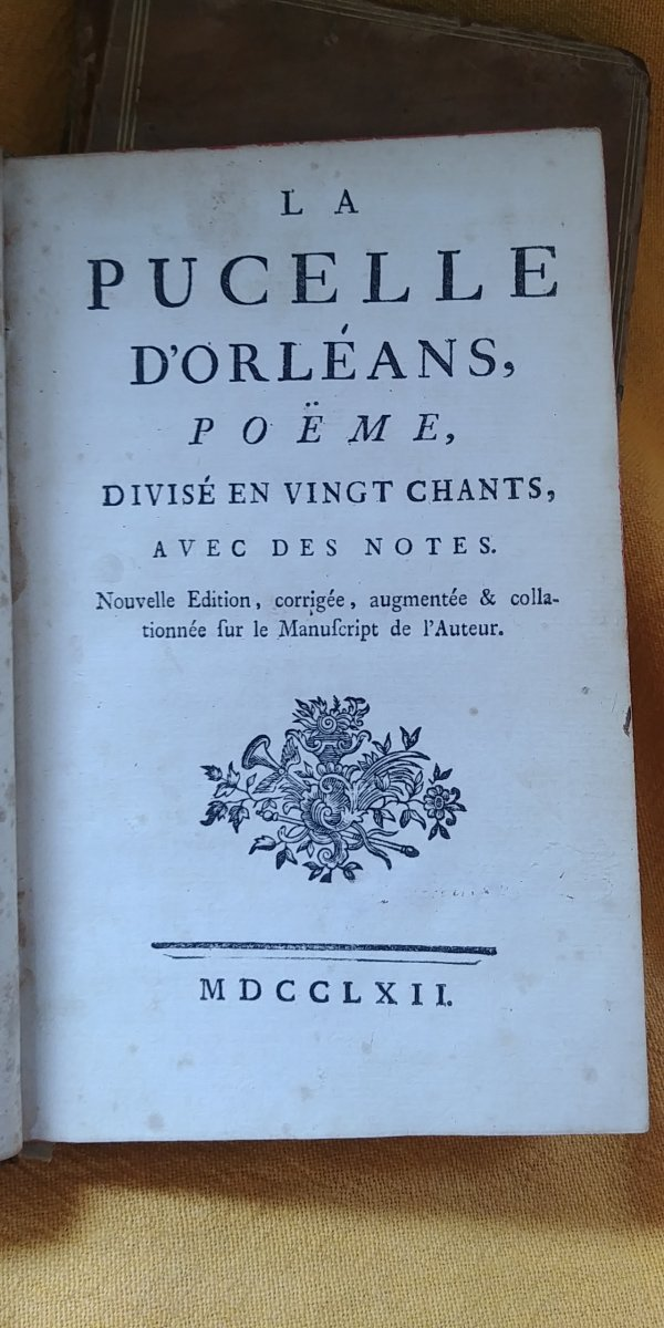 Voltaire - The Maid Of Orleans 1762