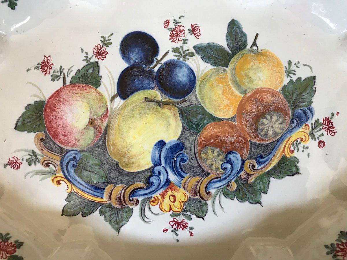 Nove Di Bassano - Fruit Decor Dish