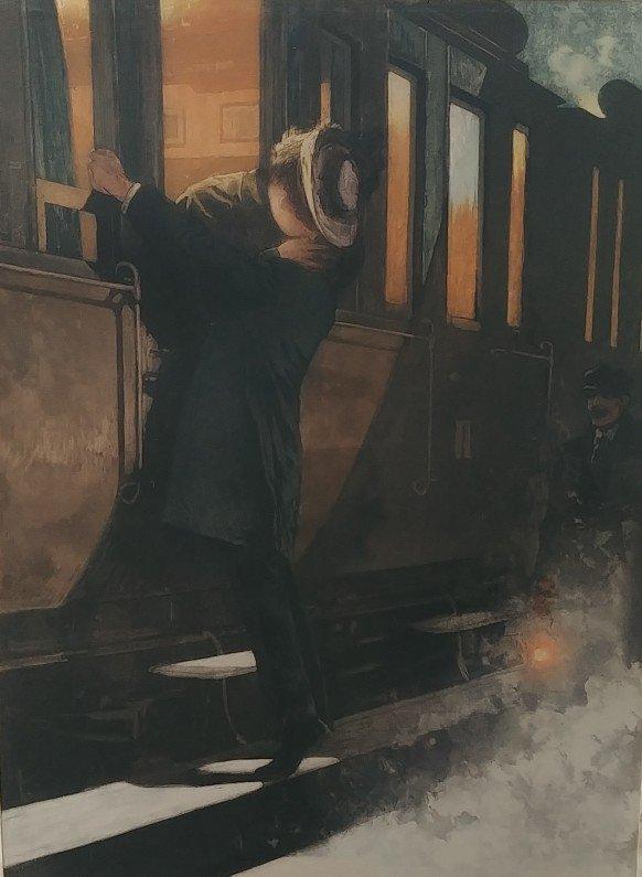 Lionello Balestrieri - Farewell