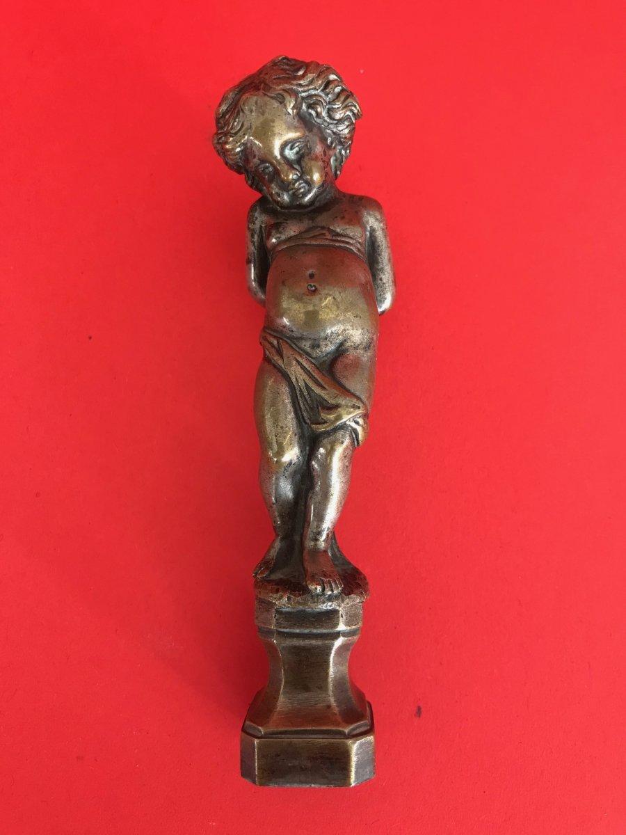 Cherub Bronze Seal