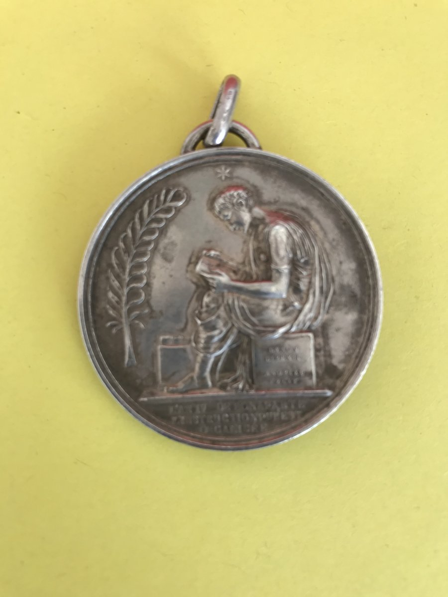 Medal With The Effigy Of Napoleon-photo-2