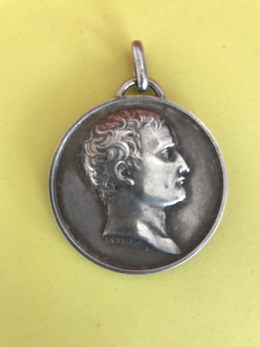 Medal With The Effigy Of Napoleon