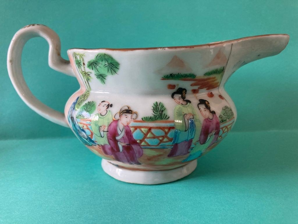 Chine Canton - Pot à Lait En Porcelaine