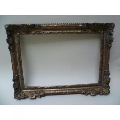 Frame Louis XIII Wood Sculpting Dore