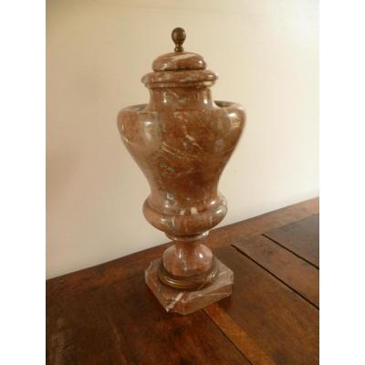 Grand Vase d'Ornement En Marbre