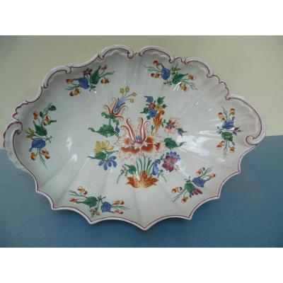 Doccia (italie) Bannette En Porcelaine XVIIIe Siècle