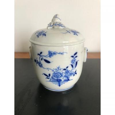 Tournai Sucrier En Porcelaine Tendre