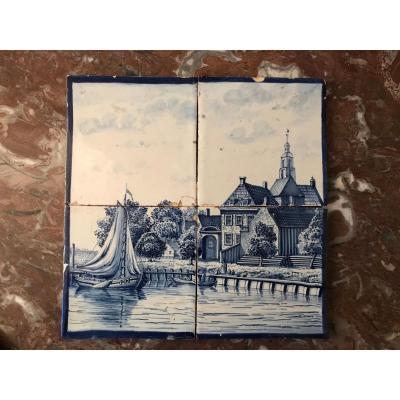 Tableau De Carreaux De Delft