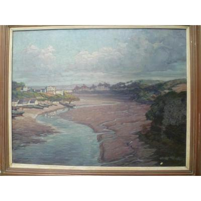 Gustave De Keukelaere (1881-1950)  Port Breton