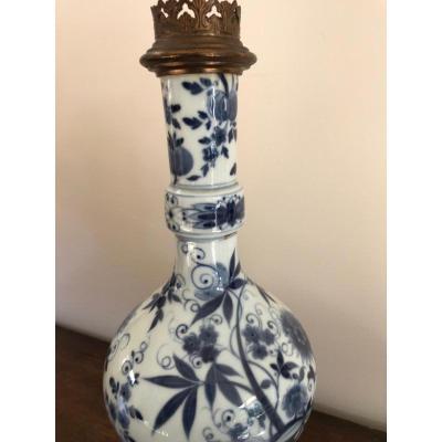 Vase Monté En Porcelaine De Chine