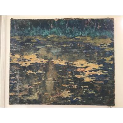 Edouard Dacheux - Reflets Sur l'Eau