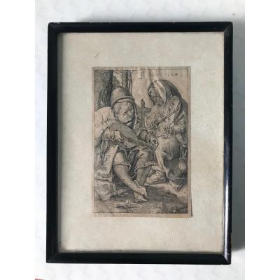 Lucas Van Leyden (1494-1533)  - Les Musiciens