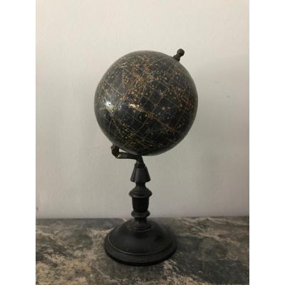 Petit Globe Céleste Signé Lebègue à Paris