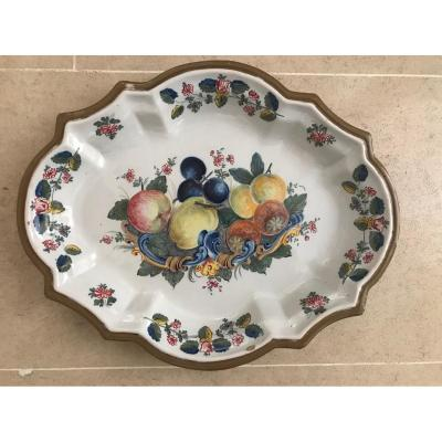 Nove Di Bassano - Fruit Decor Dish