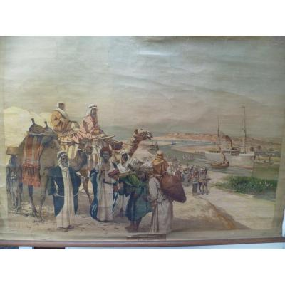 Rudolf Hellgrewe (1860-1926) - Sueskanal