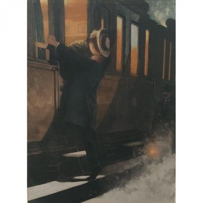Lionello Balestrieri - l'Adieu