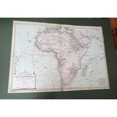 Carte Générale De l'Afrique 1795