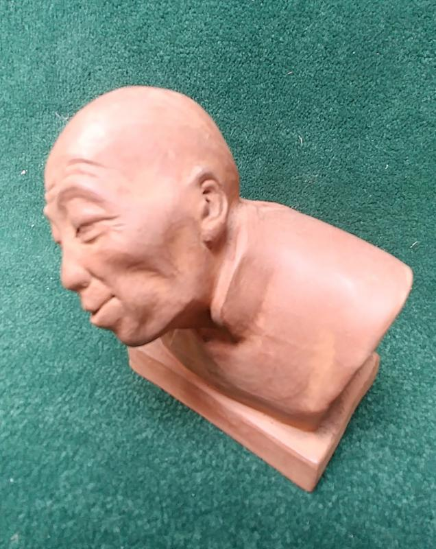 Gaston Hauchecorne - Bust Of Chinese-photo-2