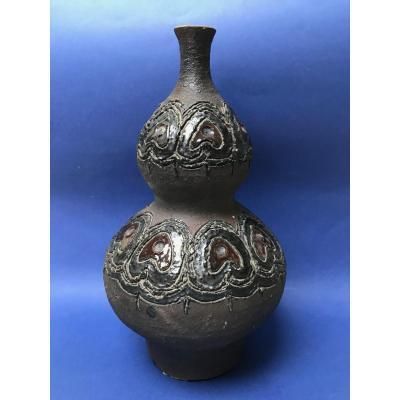 Perignem - Vase En Céramique Vernissée