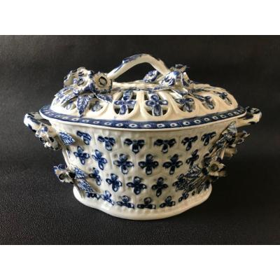 Pot-pourri En Porcelaine De Worcester