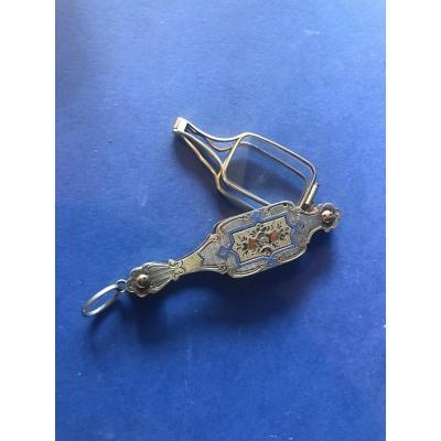 Silver And Vermeil Handpiece