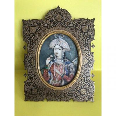 Miniature De Mumtaz Mahal