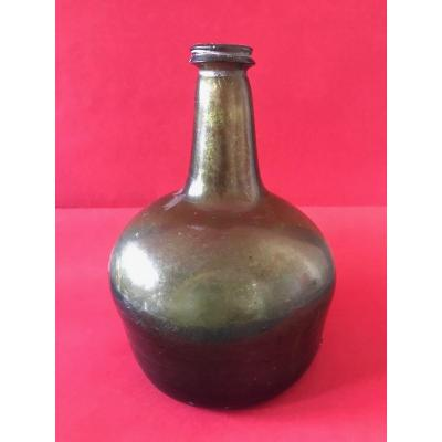 Folk Art - Blown Glass Bottle