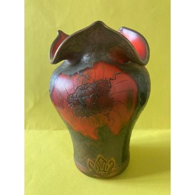 Indiana Model Vase - Legras