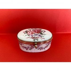 Boîte En Porcelaine Meissen