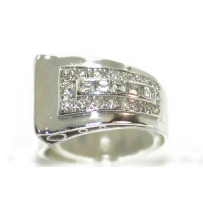Diamond And Platinum Ring 1930