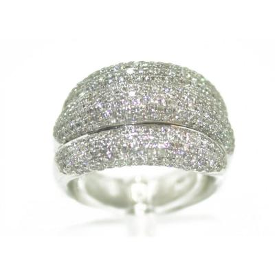 Triple Bangle Diamond Ring