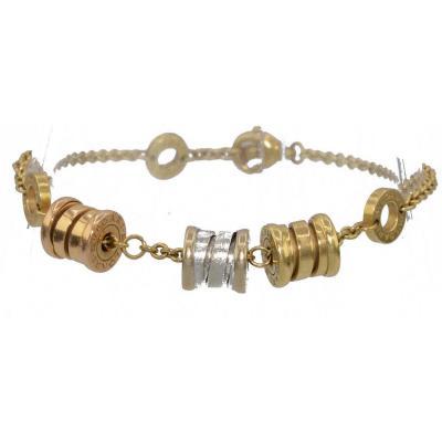 Bracelet De La Maison Bvlgari Modèle B-zéro 1