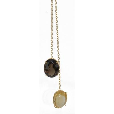 Negligee Yellow Gold Necklace