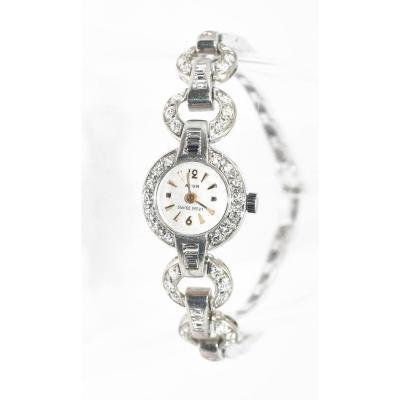Platinum And Diamonds Watch 1930