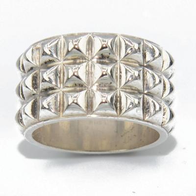 Hermès Spy Model Ring In Silver