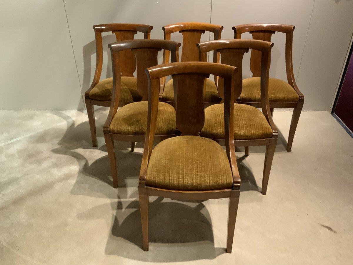 Series Of 6 Gondola Chair