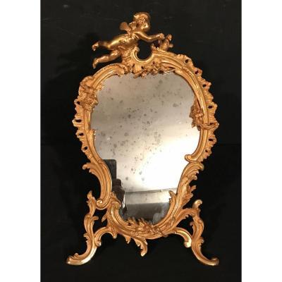Miroirs En Bronze Dore'