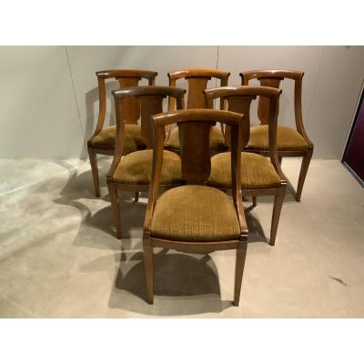 Series Of 6 Gondola Chair