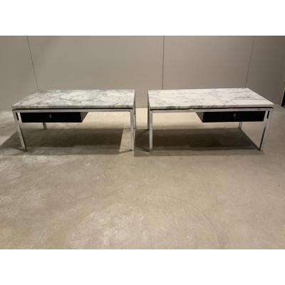 Pair Of Low Table In Taste Of Knoll