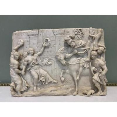 Bas Relief Marble