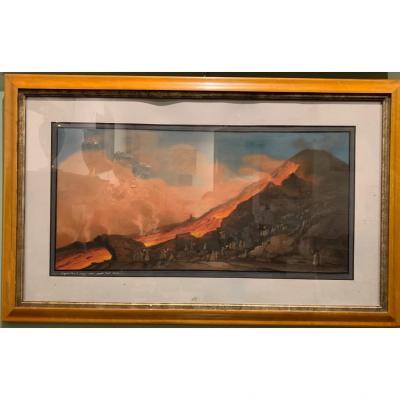Guasche Eruption Of Vesuvius