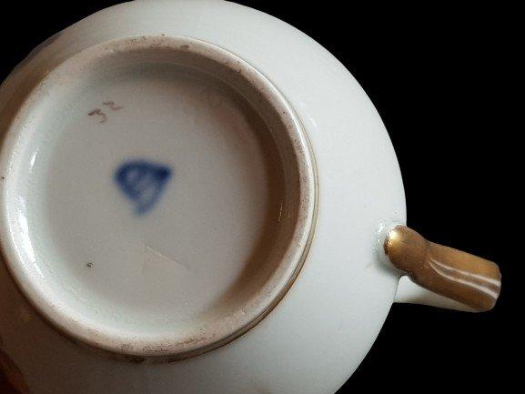 Vienna Porcelain Coffee Cup XIX C-photo-3